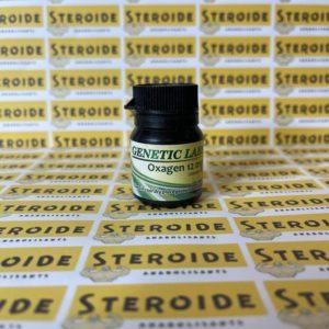 Emballage Oxagen 12 mg Genetic Labs