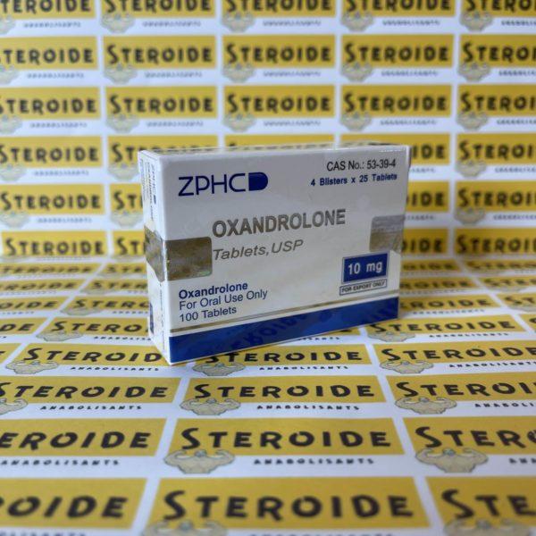 Emballage Oxandrolone 10 mg Zhengzhou
