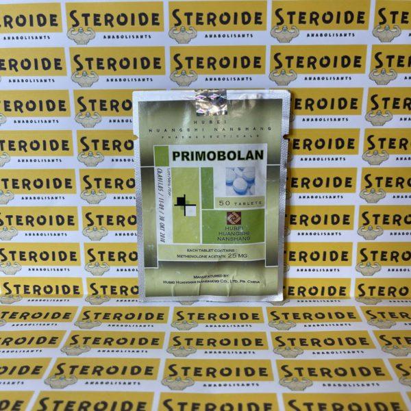 Emballage Primobolan (Methenolone Acetate) 10 mg Hubei Huangshi Nanshang