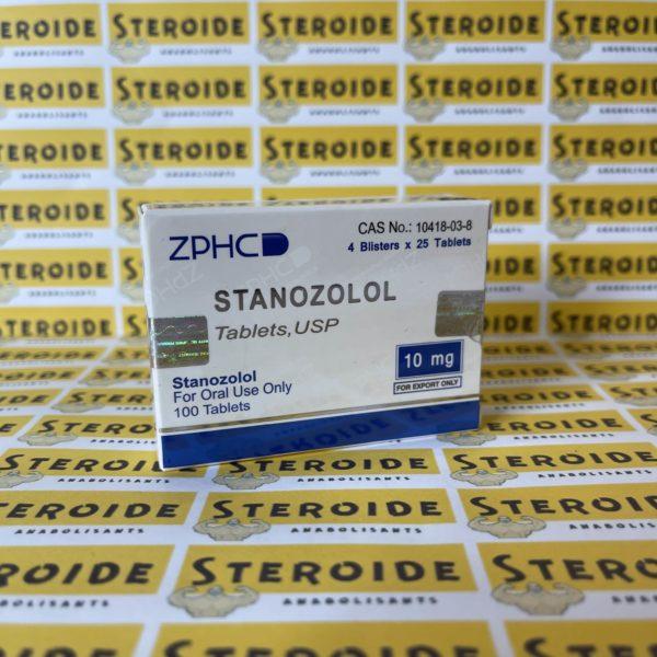 Emballage Stanozolol 10 mg Zhengzhou