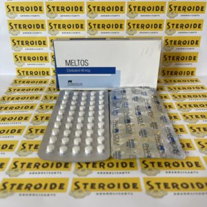 Emballage Meltos (Clenbuterol) 40 mg Pharmacom Labs
