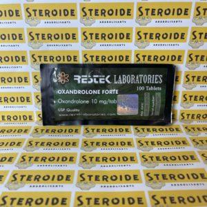 Emballage Oxandrolone Forte 10 mg Restek Laboratories