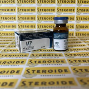 Emballage Testo Ripped 400 mg Magnus Pharmaceuticals