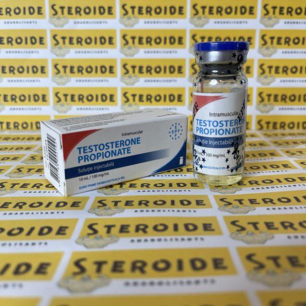 Emballage Testosterone Propionat 100 mg Euro Prime Farmaceuticals